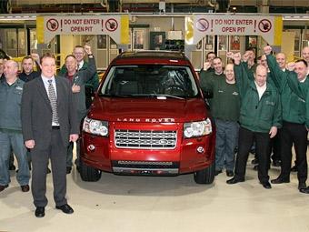 100-тысячный Land Rover Freelander отправился в Россию