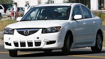 Mazda3 готовится к модернизации