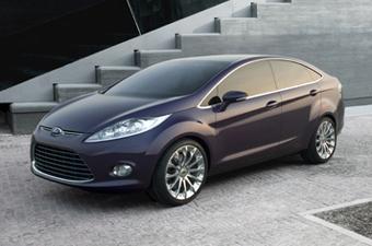 """Ford показал прототип новой Fiesta в кузове """"седан"""""""