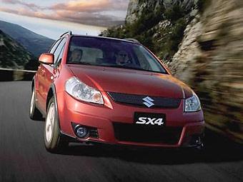 Suzuki отзывает более 24 тысяч SX4