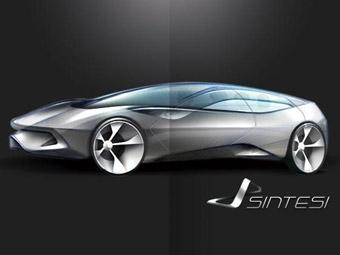 Pininfarina показала эскизы нового концепта Sintesi