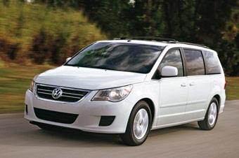 Появились фотографии нового минивэна Volkswagen