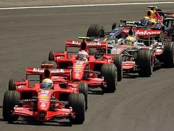 """""""Формула-1"""" получила разрешение на ночную гонку"""