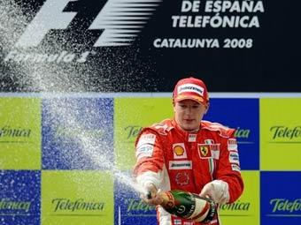 Пилоты Ferrari сделали дубль на Гран-при Испании