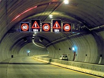 Треть тоннелей Европы оказались небезопасными для автомобилистов