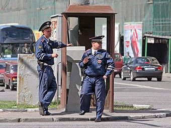 Количество милицейских постов на дорогах России сократится на треть