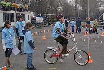 На востоке Москвы открылась детская площадка для изучения ПДД
