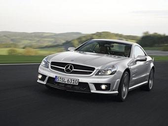 """Mercedes представил """"заряженные"""" версии обновленного SL"""