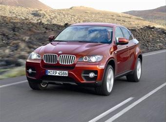 BMW объявила российские цены на кроссовер X6