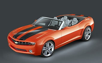 Chevrolet привез в Детройт открытую версию Camaro