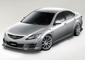 """Mazda покажет """"заряженную"""" версию новой Mazda6"""