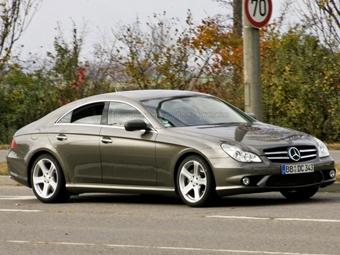 Обновленный Mercedes CLS сфотографировали без камуфляжа