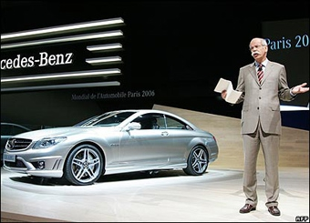 Mercedes-Benz получит часть деталей от BMW
