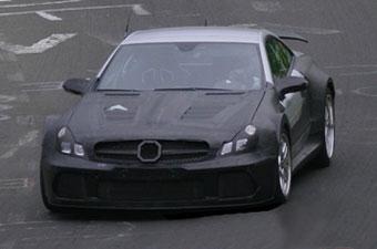 Новый суперкар Mercedes-Benz покажут в 2008 году