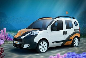Citroen показал пассажирскую версию фургончика Nemo