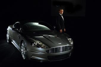 Джеймс Бонд снова будет ездить на Aston Martin DBS