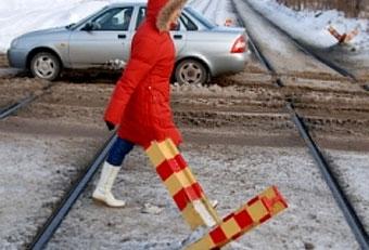 """Самарские трамваи защитят от машин противотанковыми """"ежами"""""""