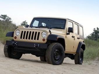 Jeep представил военную версию Wrangler Unlimited