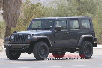 """Jeep готовит Wrangler с кузовом """"пикап"""""""
