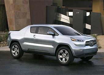 В Детройте Toyota покажет прототип небольшого пикапа