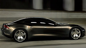 Fisker покажет гибридный седан на автошоу в Детройте