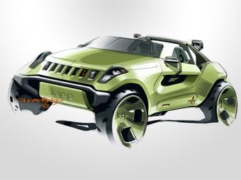 Группа Chrysler покажет в Детройте три новых концепт-кара
