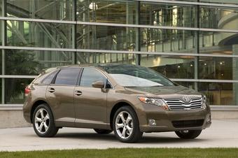 Toyota показала в Детройте новый кроссовер Venza