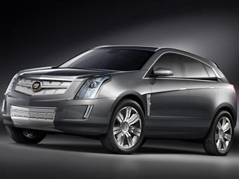 Cadillac представил новый концептуальный кроссовер
