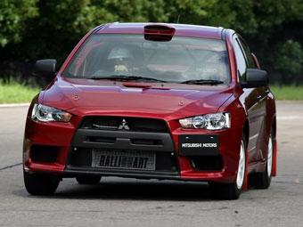 Mitsubishi представила раллийный Lancer Evolution X