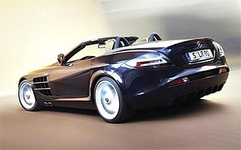 Родстер Mercedes SLR McLaren появится в сентябре