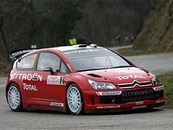 Дани Сордо на Citroen С4 WRC выиграл шейкдаун в Монте-Карло