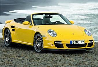 Porsche представил кабриолет на базе 911 Turbo
