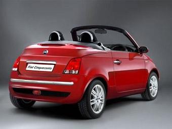 Fiat 500 без крыши покажут в Женеве