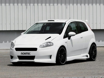 Novitec разработал спорт-пакет для дизельного Fiat Grande Punto