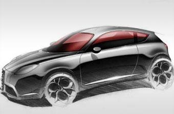 Новый Alfa Romeo Junior покажут в Женеве
