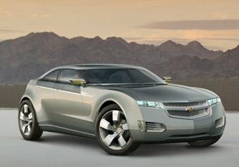 GM не успеет разработать гибрид Chevrolet Volt к 2010 году