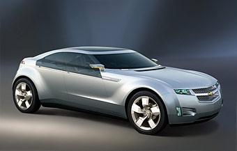 Гибридный Chevrolet Volt может экономить две тонны бензина в год