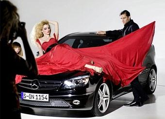 Mercedes показал кусочек купе CLC