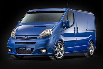 "Opel представил ""горячий"" фургон Vivaro VPC"