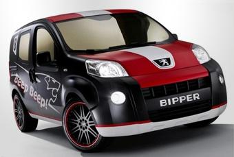 Peugeot сделал фургон Bipper похожим на гоночный автомобиль