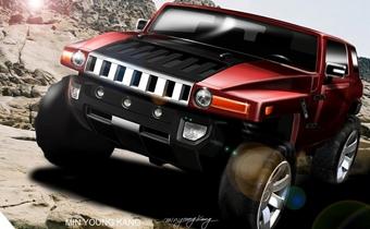Hummer представит в Детройте новый концепт-кар