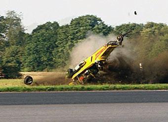 Телеведущий Top Gear расскажет о своей аварии в Интернете