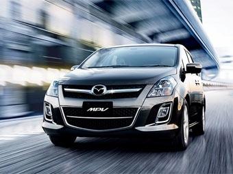 Японскую Mazda MPV сделали похожей на Mazda6