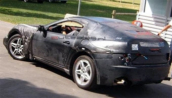 Maserati испытывает маленькое купе