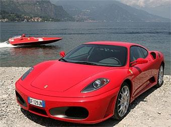 Лодка с мотором от Ferrari F430 установила мировой рекорд скорости