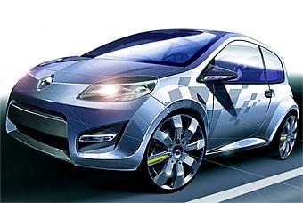 """Renault готовит """"заряженный"""" Twingo"""