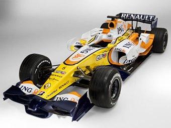 Renault F1 представила новый болид R28