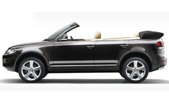 Volkswagen разыграл испанцев кабриолетом Touareg
