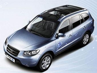 В Париже Hyundai покажет гибридный Santa Fe