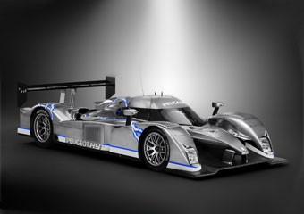Команда Peugeot Sport представила гибридный ле-мановский болид